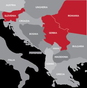 Aprire una società all'estero nei balcani